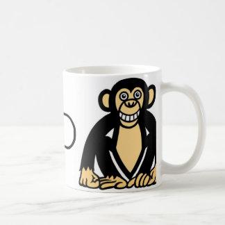cad monkey 2 basic white mug