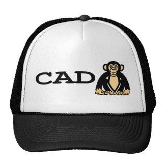 cad monkey 2 trucker hat