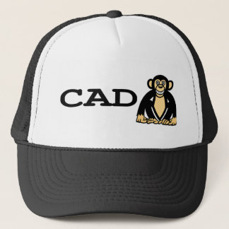 cad monkey 2 trucker hat