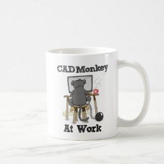 Cad Monkey at Work Coffee Mug