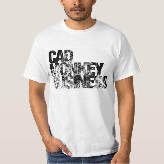 Cad Monkey Business T-Shirt