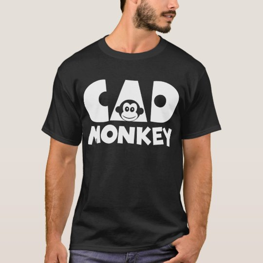 Cad Monkey Dark T-Shirt