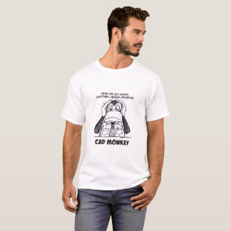CAD Monkey Hear No Evil T-shirt