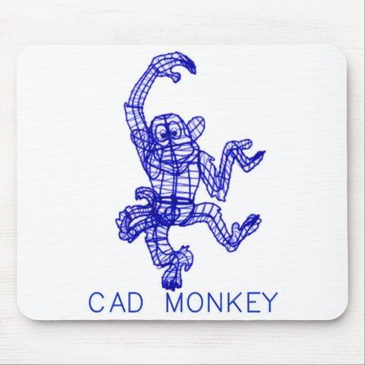 CAD MONKEY MOUSE PAD