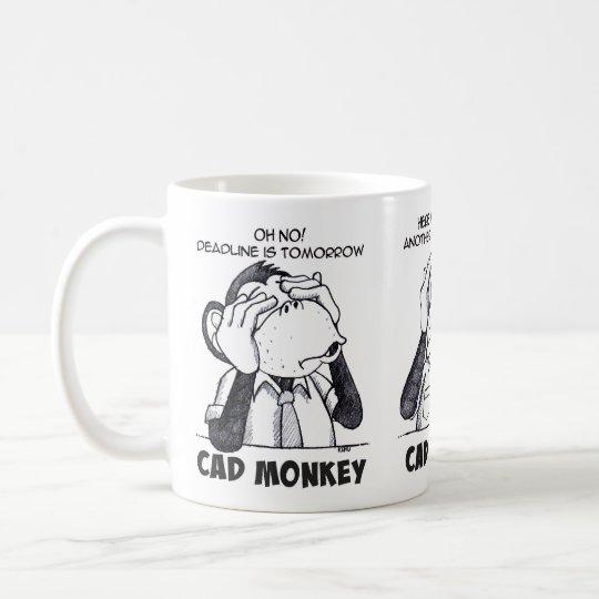 Cad Monkey See Hear Speak No Evil Mug