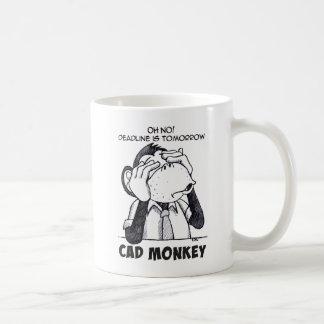 CAD Monkey See No Evil Coffee Mug