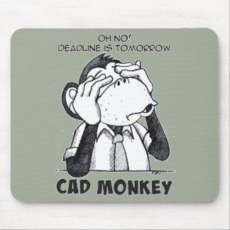 Cad Monkey See No Evil Mousepad