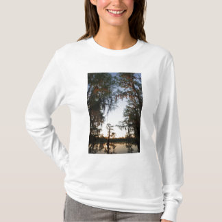 Caddo Lake at sunrise T-Shirt
