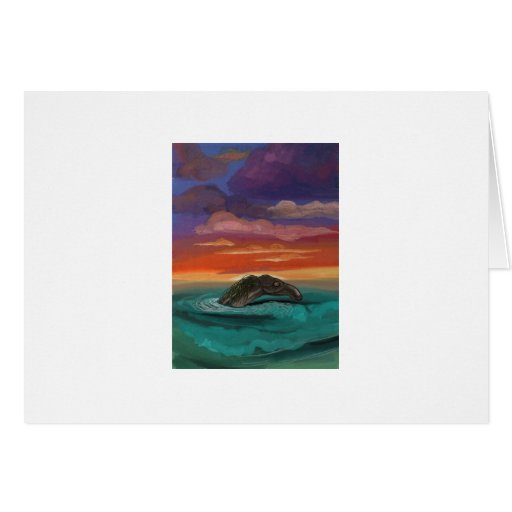 """""""Caddy at Sunset"""" by Thomas Finley Greeting Cards"""