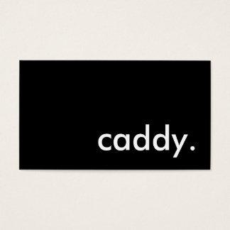 caddy. business card
