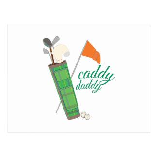 Caddy Daddy Postcard