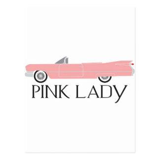 caddy pink lady postcard