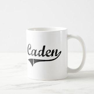 Caden Classic Style Name Mugs