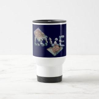 Caden/Love 15 Oz Stainless Steel Travel Mug