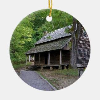 Cades Cove Cabin Christmas Ornament