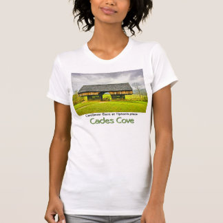 Cades Cove Cantilever Barn at the Tipton Place Tee Shirt