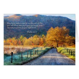 Cades Cove - Path of Life Card