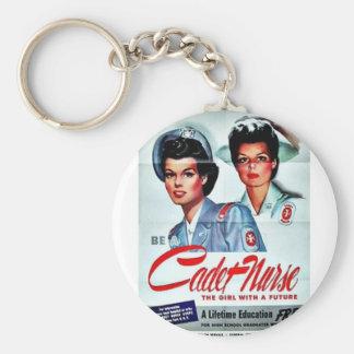 Cadet Nurse Key Chain
