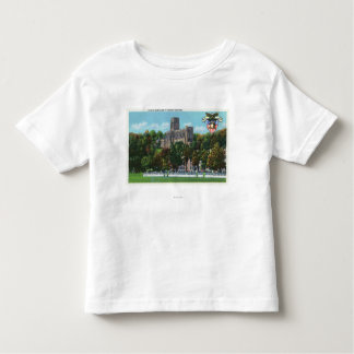 Cadets Marching to Parade Grounds Scene Toddler T-Shirt