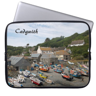 Cadgwith Cornwall England Photo Laptop Sleeve