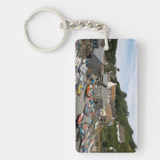 Cadgwith Cornwall Photograph Key Ring