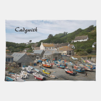 Cadgwith Cornwall Photograph Tea Towel