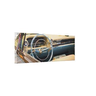 Cadillac 1959 Driving Seat Canvas Print