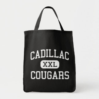 Cadillac - Cougars - Middle - Detroit Michigan Grocery Tote Bag
