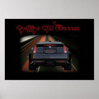 Cadillac CTS VR - Kiss This! Poster