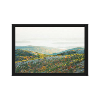 Cadillac Mountain in Fall, Acadia National Park Gallery Wrap Canvas