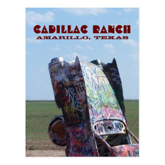 Cadillac Ranch 02 Postcard