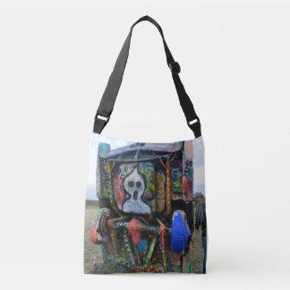 Cadillac Ranch Graffiti Crossbody Bag