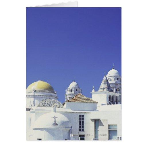 Cadiz Cathedral in Cadiz, Spain Greeting Cards
