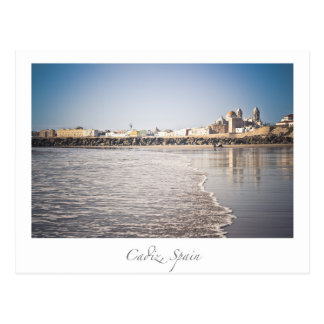 cadiz spain postcard