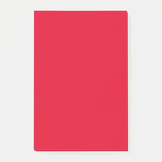 Cadmium Red Cute Colour Design Post-it Notes
