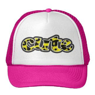 Cadmium Yellow Leopard Animal Print Trucker Hat