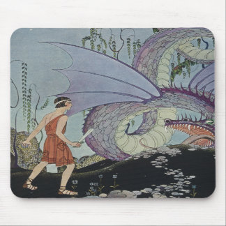 Cadmus and the Dragon Mousepads
