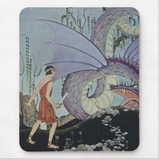 Cadmus and the Dragon Mouse Pad
