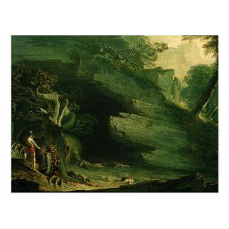 Cadmus and the Dragon Postcard