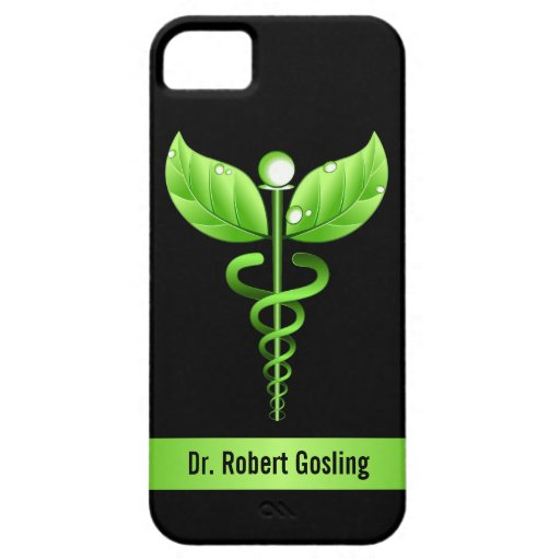 Caduceus Alternative Medicine iPhone 5 Case Cover Case For iPhone 5/5S