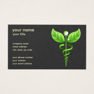 Caduceus Alternative Medicine Symbol Standard Gold