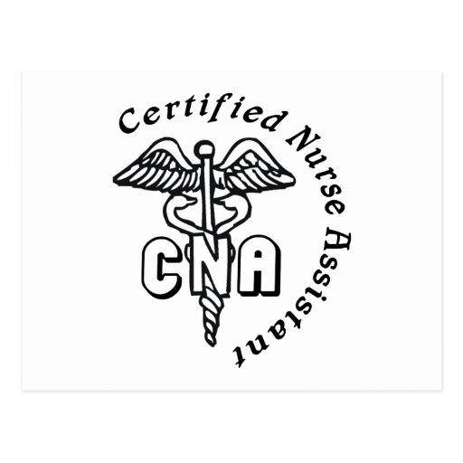 CADUCEUS CNA CERTIFIED NURSE ASSISTANT POSTCARDS