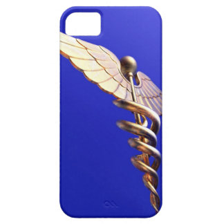 Caduceus, computer artwork. The caduceus is an iPhone 5 Cover
