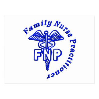 CADUCEUS FNP FAMILY NURSE PRACTITIONER POST CARDS