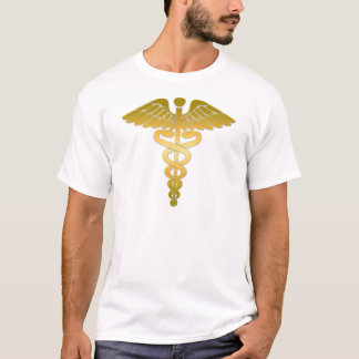 Caduceus golden T-Shirt