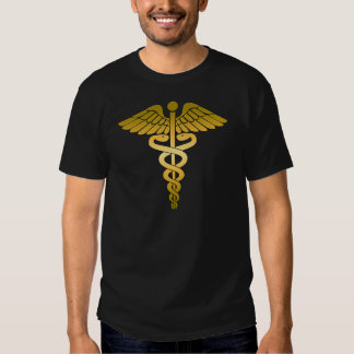 Caduceus golden tshirt