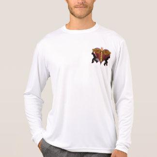 Caduceus Heart V-1 pocket only Tee Shirt
