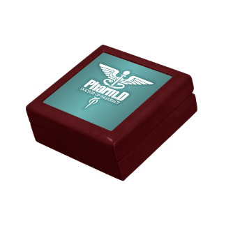 Caduceus PharmD 3 Small Square Gift Box