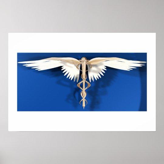 Caduceus -Symbol of the Healing Arts Poster
