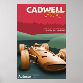 Cadwell Park Racing Poster